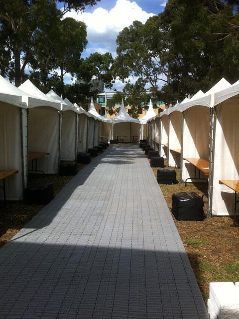 No Fuss Floor at the Markets - Smart Track Australia